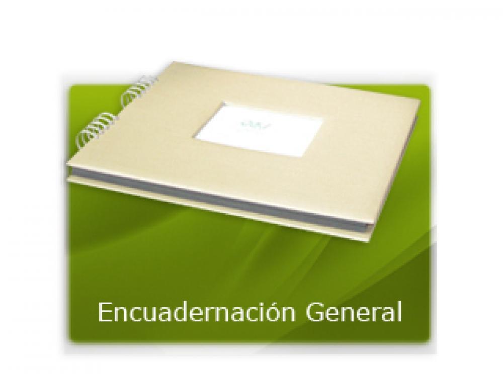 Encuadernación general