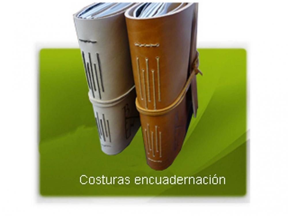 Costuras encuadernación