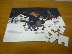 troquelado de puzzles